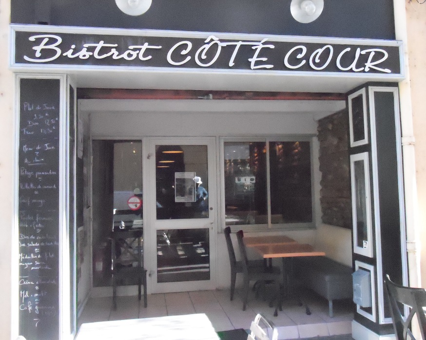 Photo N°1 : LE BISTROT COTE COUR